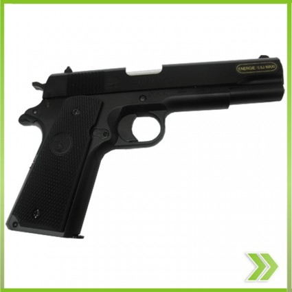 Pistola Airsoft KWC1911 replica 45  Resorte Polimero nuevo sistema hop up