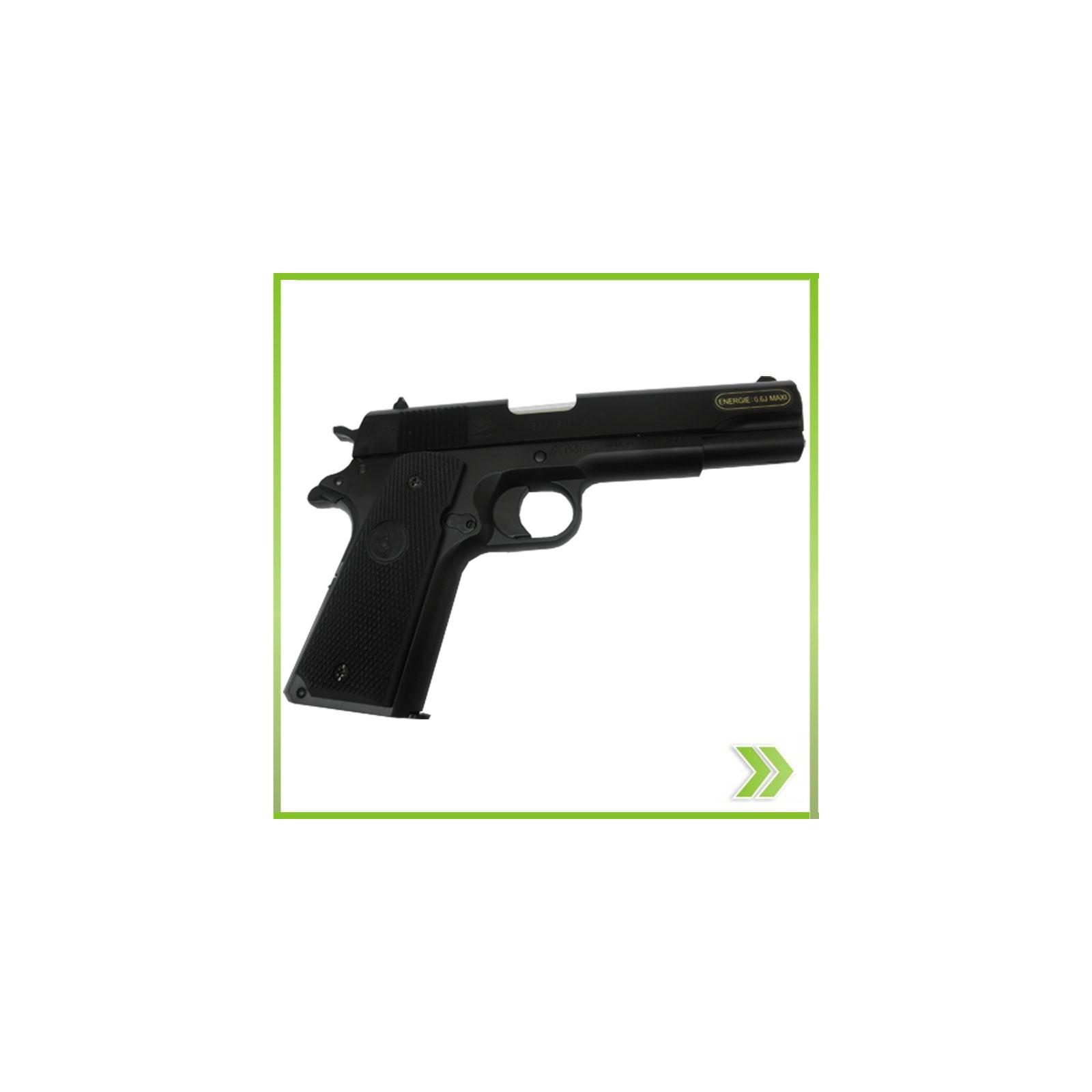 Pistola Airsoft KWC1911 replica 45 Resorte Polimero nuevo sistema ...