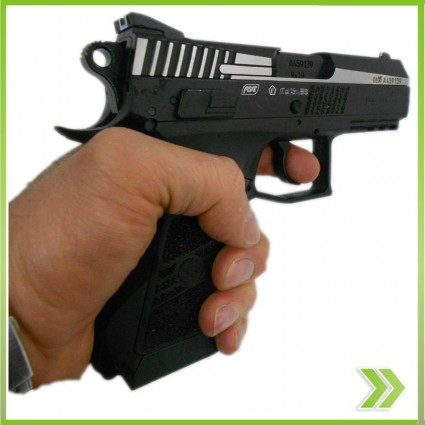 Pistola Co2 Full Metal CZ Retoceso Bolw Back zBrojovka ASG Balin 4.5 mm