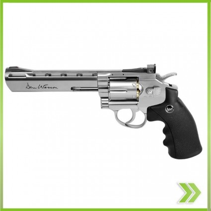 Revolver Dan Wesson 6 Aire Co2 Full Metal 4.5 Mm 426 Fps