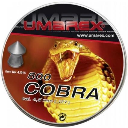 Diabolo Copa Umarex Alemana Calibre 4.5 Caja x 500 0.56  Gr