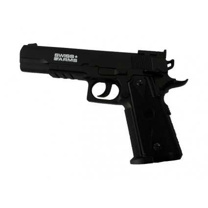 Pistola Swiss Arms Colt 1911 CO2 SemiAutomatica 4.5mm 361 FPS