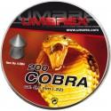 DIABOLO UMAREX COBRA COPAS ALEMANAS PUNTA CAJA X 200 CALIBRE 5.5