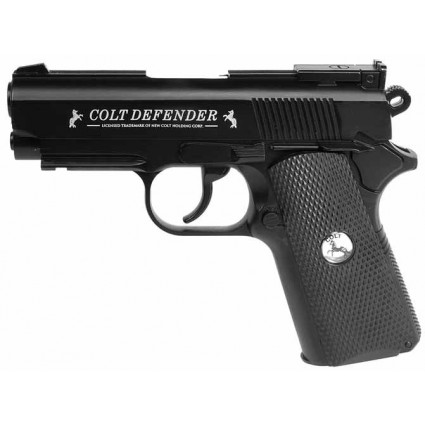 Pistola Colt Defender Co2 Full Metal  440 FPS Calibre 4.5 Refurbished