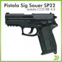 Pistola Co2 Sigsauer Sp22 Balin 4.5 Gas Manifiesto de Importacion