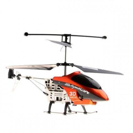 Helicoptero Lanneret 3 Rc Gyroscopio  3 Canales Usb Metalico
