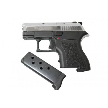 Pistola Fogueo Mini Ekol Botan Chrome 9mm