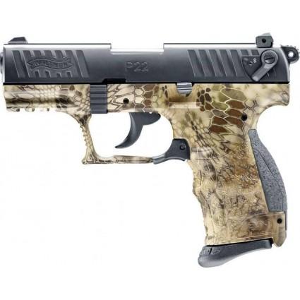 Pistola Fogueo Walther P22Q Alemana salva 9mm Camuflada importada