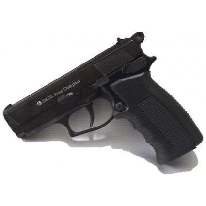 Pistola Fogueo Ekol Aras 9mm Proveedor 15 Salvas Full Metal