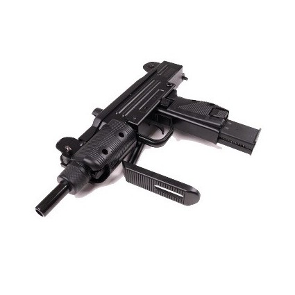 Mini Uzi Swiss Sub Ametralladora Full Metal Co2 4.5mm Legal