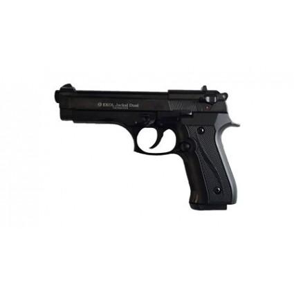 Pistola Fogueo Ekol Jackal Magnun Automatica Beretta Negra