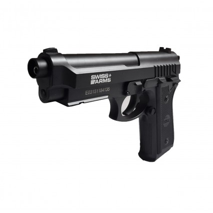 Pistola Swiss Arms SA P92 CO2 Full Metal Beretta 4.5mm