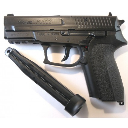 Pistola Co2 Sigsauer Sp22 Balin 4.5 Manifiesto Aduana Legal