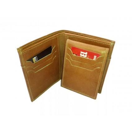 Billetera Colombiana Tipo Libro Con Porta Documentos