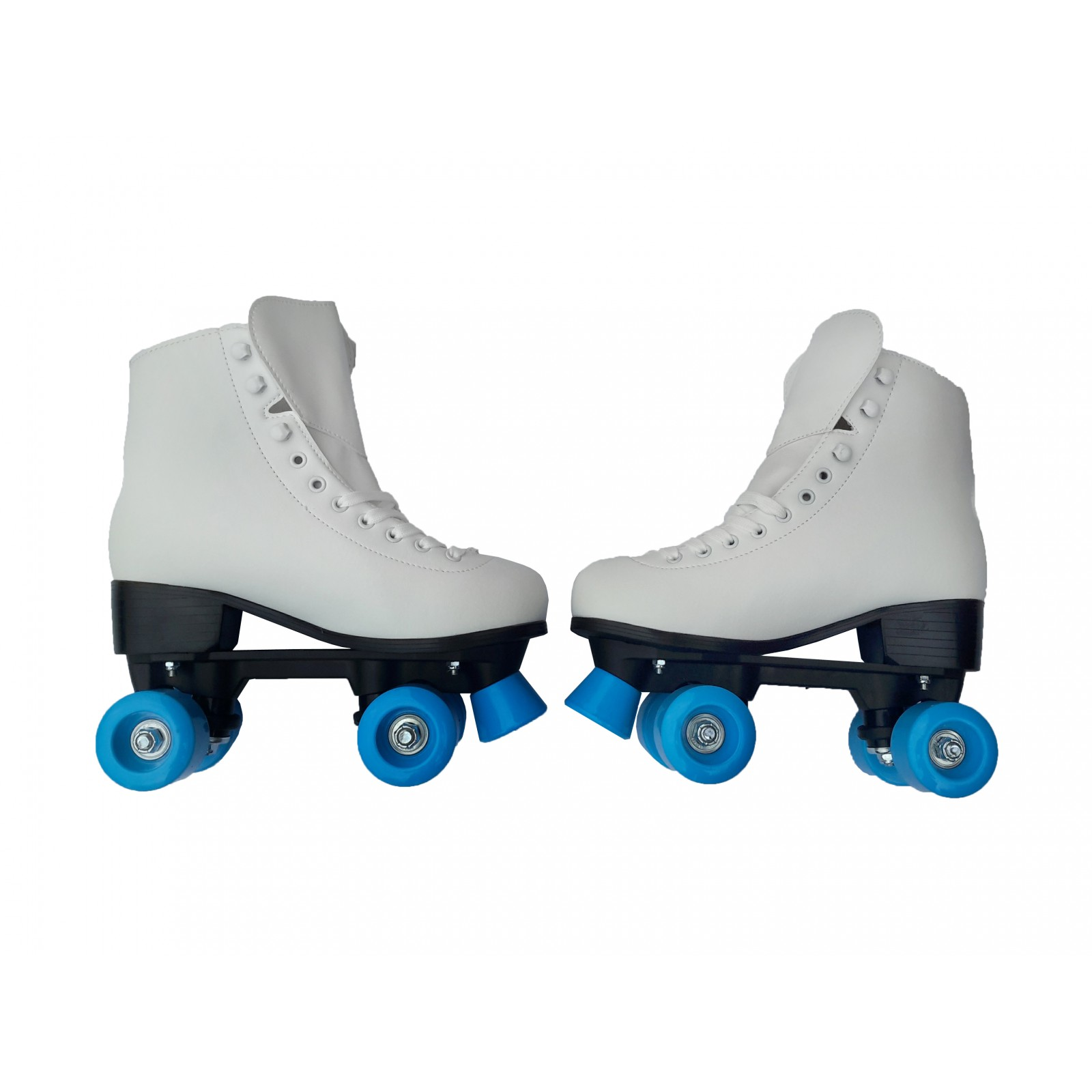 Patines Patin 4 Ruedas Llantas Blancos Roller Skate Artistic ...