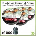 Diabolo Gamo 4.5mm x1.000 unidades 4 Caja de Pro Magnun