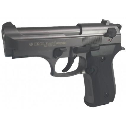 Pistola Traumatica Ekol Firat Compact Fume Cañon Abierto Bala Goma
