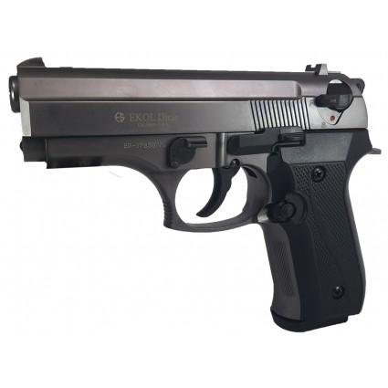 Pistola Fogueo Ekol Dicle Fume Cañon Abierto
