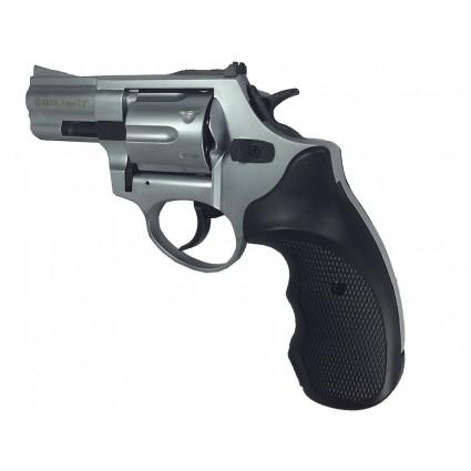 "Pistola Traumatica Ekol Viper 2,5"" White Cañon Abierto Bala Goma"
