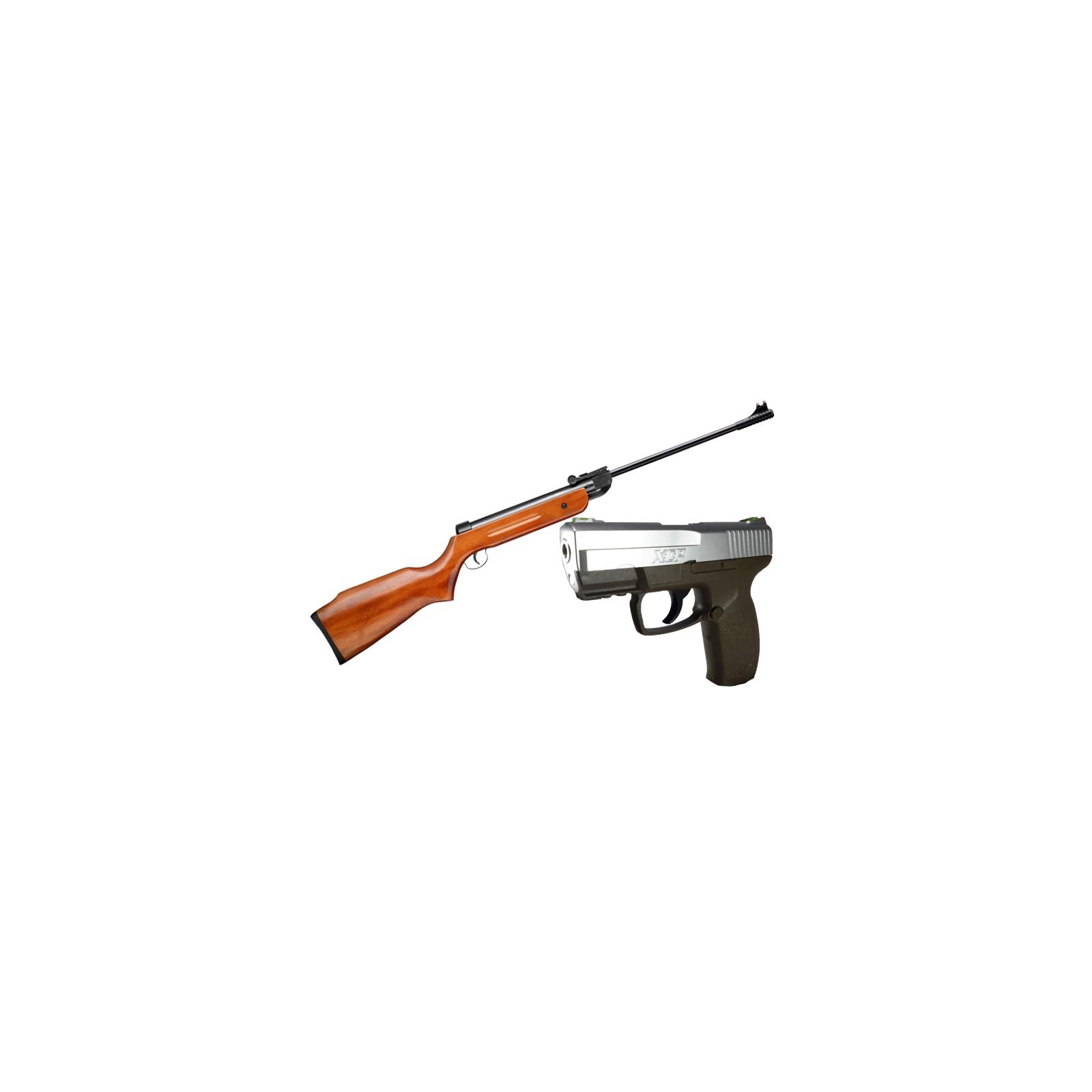 Combo Rifle Escopeta B1-4 Aire -Pistola Neumática CO2 Umarex XCP