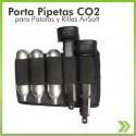 Chapuzas Porta 3 Pipetas Co2 Y 2 Proveedores