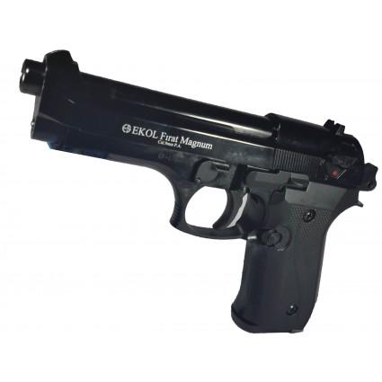 Pistola Fogueo Rubber Ekol Firat Magnun Beretta Pietro 92 Salvas explulsa bola Goma