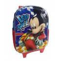 Bolso Morral Infantil Disney Mickey Mouse Niño Relieve.