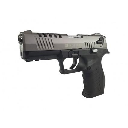 Pistola Traumatica Blow TR 92 K Fume  Cañon Abierto 9mm Bala Goma