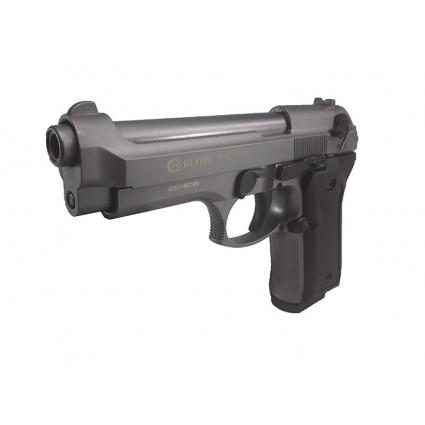 Pistola Traumatica Blow F 92 Fume Cañon Abierto Bala Goma 9mm