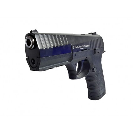 Pistola Traumatica Ekol Firat PA92 Magnum Negro Cal 9mm Cañon Abierto Bala Goma P4 Cordoba