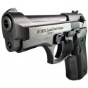 Pistola Traumatica Ráfaga Ekol Jackal Dual Compact Cañon Abierto Bala Goma Fume Cal 9mm