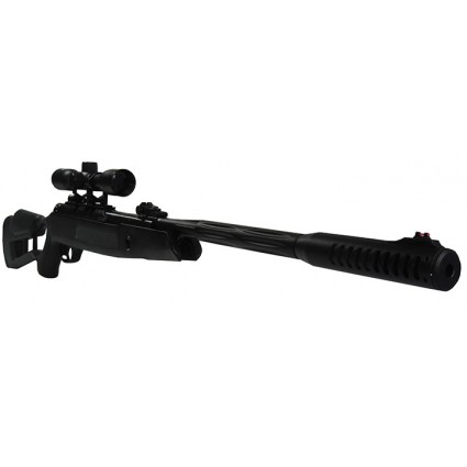 Rifle Hatsan Airtact Cal 5.5 mm 1.000 fps 21 julios Negro