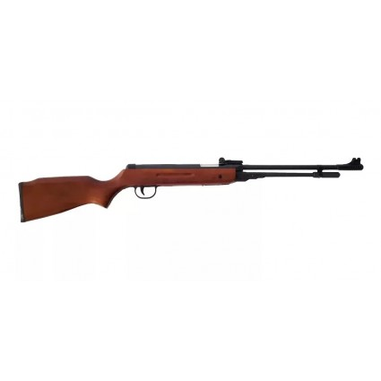 Escopeta Rifle Aire 5.5 Mm Diabolos Culata Madera 600 Fps