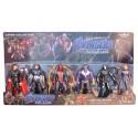 Set 6 Figuras Muñecos Avengers End Game Coleccionables Spiderman Thanos