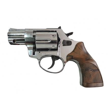 Revolver Traumatico Ekol Lite Cañon 2``Cal 9mm Cañon Abierto Niquel