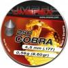 Diabolo Copa Umarex Alemana Calibre 4.5 Caja x 250 1.02 Gr