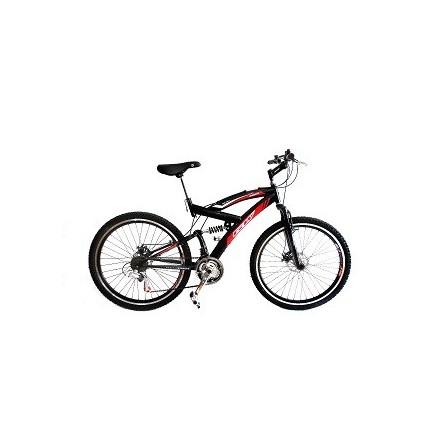 Bicicleta Gw Todoterreno Doble Suspension Cambios Shimano Frenos de Disco Manubrio Y Caña En aluminio