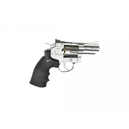 Revolver Dan Wesson Full Metal cañon 2.5 pulg Gas 4.5 mm