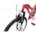 Bicicleta Gw Todoterreno Doble Suspensio ref 1401 Rin 26 Aluminio 18 Cambio
