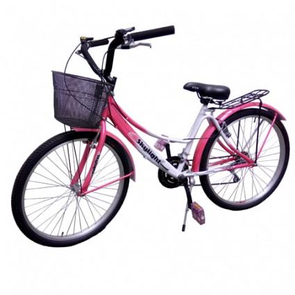 Bicicleta Drive Rin 26 mujer con canasta