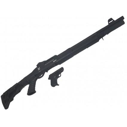 Combo Rifle Changon Pistola Volga Traumaticos Cañon Abierto